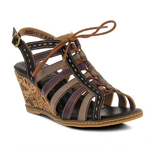 Womens L'Artiste By Spring Step Qunnie Slingback Sandals