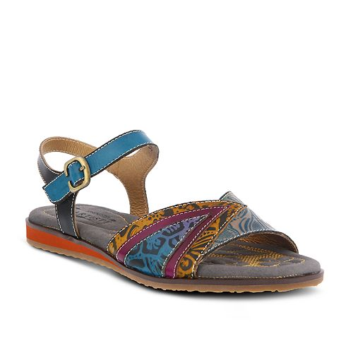 Womens L'Artiste By Spring Step Goldenite Ankle Strap Sandals