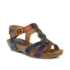 Womens L'Artiste By Spring Step Hemlock Ankle Strap Sandals