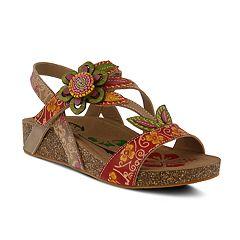 Womens L'Artiste By Spring Step Mayarta Ankle Strap Sandals