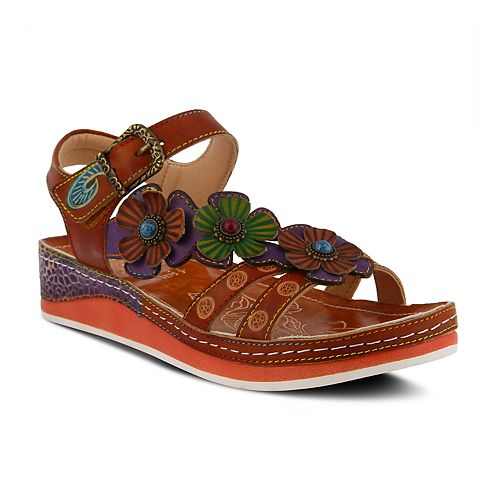 Women's L'Artiste By Spring Step Goodie Ankle Strap Sandals