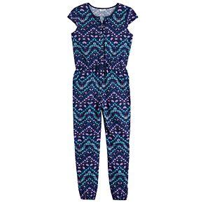 Girls 7-16 Joey B Chevron Jumpsuit
