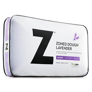 Zoned Dough Lavender Memory Foam Pillow