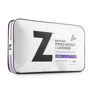 Zoned Dough® Lavender Memory Foam Shoulder Pillow
