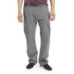 Mens Grey Cargo Pants - Bottoms, Clothing | Kohl's