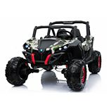 Blazin' Wheels Camo Wild Cross UTV 12V Two-Seater Ride-On