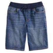 Boys 8-20 & Husky Urban Pipeline? Knit-Waist Denim Pull-On Jeans