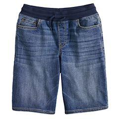 Boys 8-20 & Husky Urban Pipeline™ Knit-Waist Denim Pull-On Jeans
