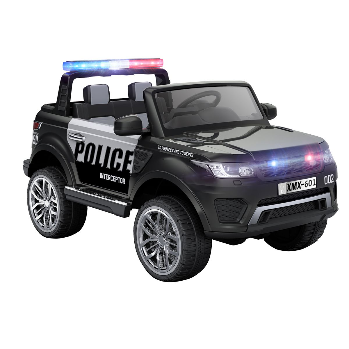 Blazin Wheels 12V Ride-On Police Vehicle + $85 Kohls Rewards