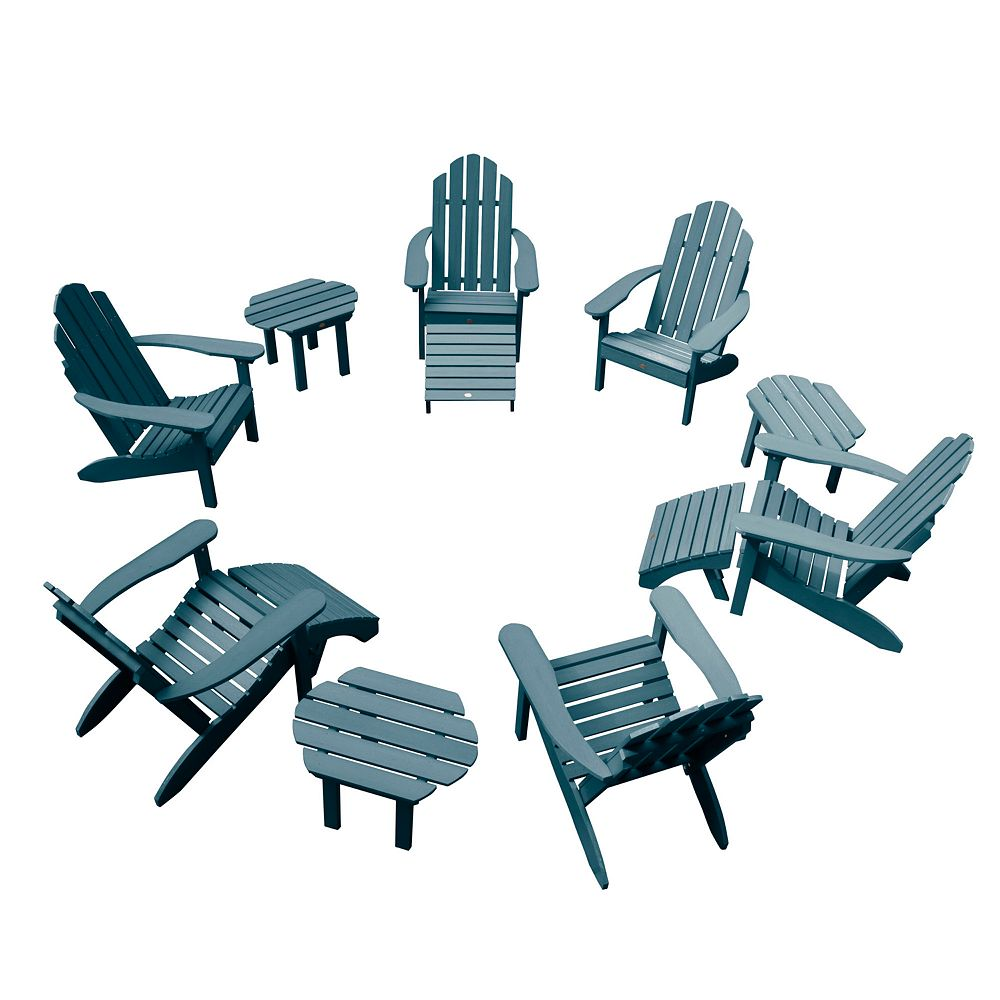 Highwood Westport Adirondack Chairs, Side Tables, and Ottomans