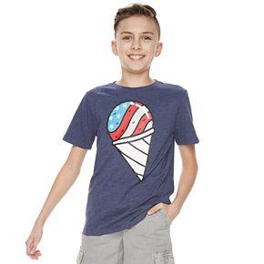 Boys 8-20 Family Fun? Americana Icons Graphic Tee