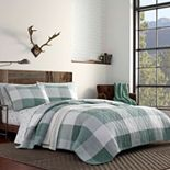 Eddie Bauer Boulder Plaid Quilt Set