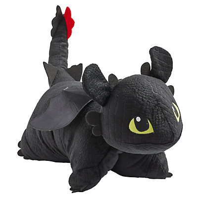 Pillow Pets How to Train Your Dragon Toothless Stuffed Animal Plush Toy