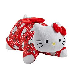 Pillow Pets Sanrio Hello Kitty Red Polka Dot Stuffed Animal Plush Toy