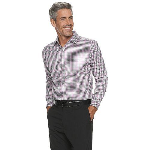 Men's Haggar® Long Sleeve Stretch Quick Dry Shirt