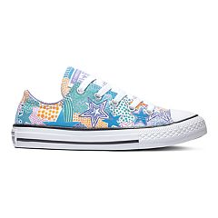Girls' Converse Chuck Taylor All Star Mosaic Double Tongue Sneakers