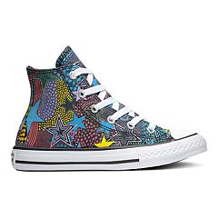 abf09f50a675 Girls  Converse Chuck Taylor All Star Mosaic High Top Shoes