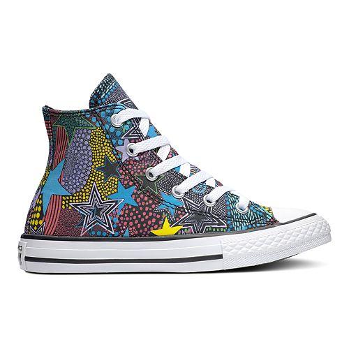 Girls' Converse Chuck Taylor All Star Mosaic High Top Shoes