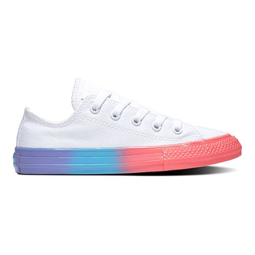 2ba09f7c2552 Girls' Converse Chuck Taylor All Star Rainbow Ice Sneakers