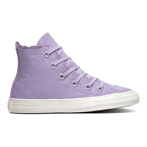 Girls' Converse Chuck Taylor All Star Frilly Thrills High Top Shoes