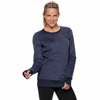Tek Gear Women's Fleece Crewneck Sweatshirt