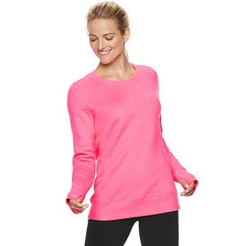 Women's Tek Gear® Fleece Crewneck Sweatshirt