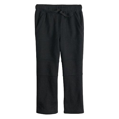 Toddler Boy Jumping Beans® Knee Stitch Fleece Pants