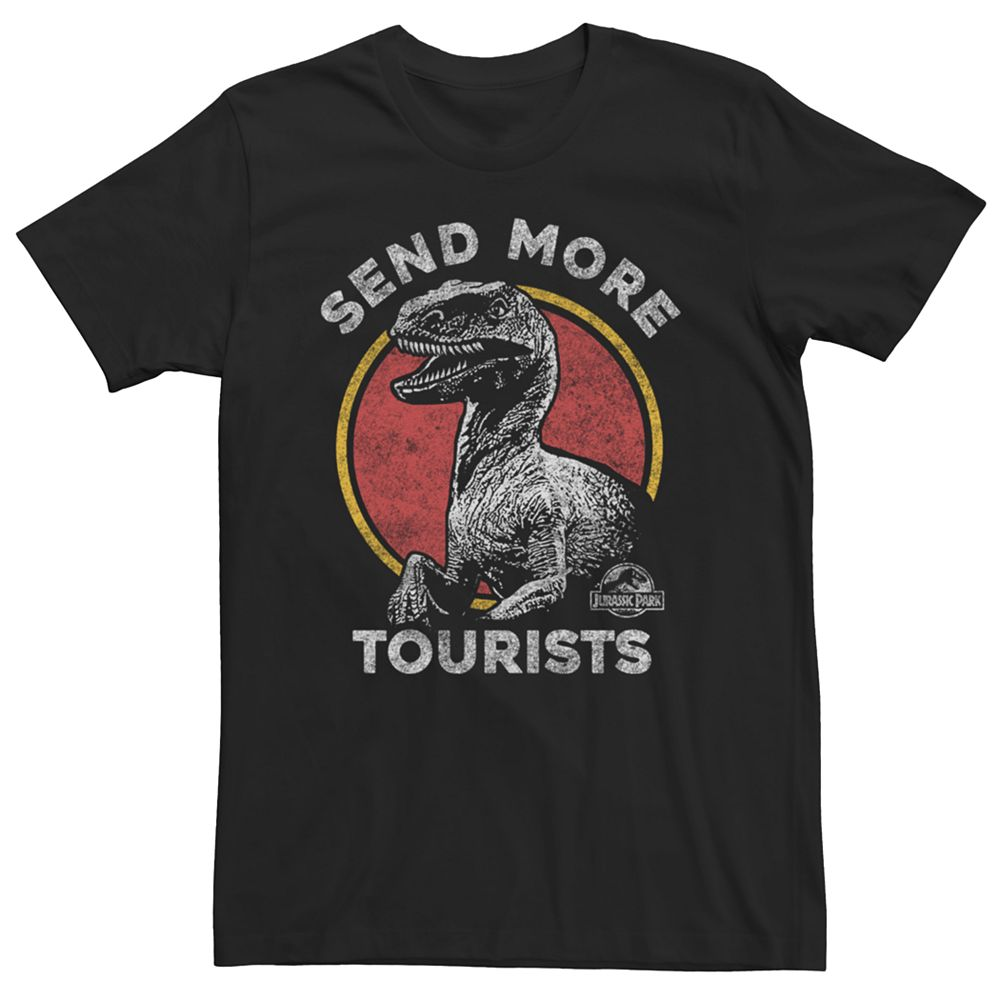Men's Jurassic Park Send More Tourists Tee