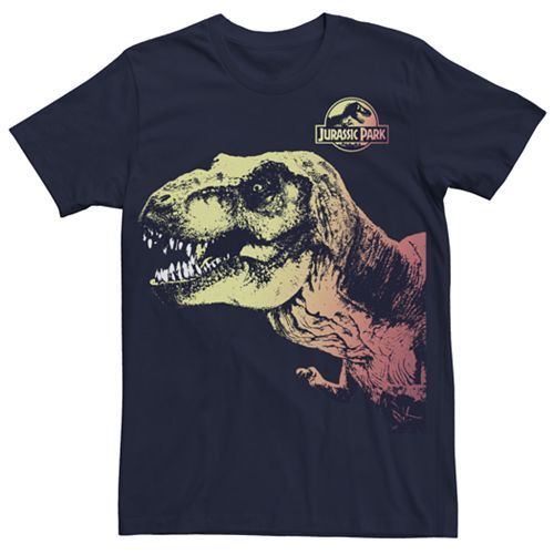 Men's Jurassic Park Sunset Rex Tee
