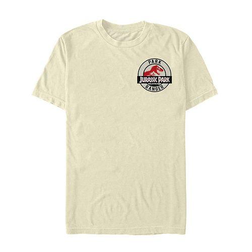 Men's Jurassic Park Park Ranger Badge Tee