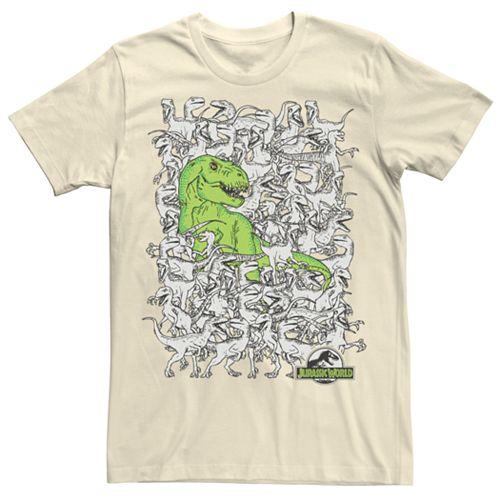 Men's Jurassic World Hidden Rex Tee