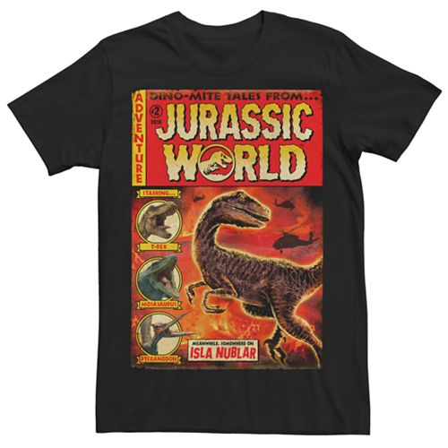 Men's Jurassic World Fallen Kingdom Dino Mite Tales Tee