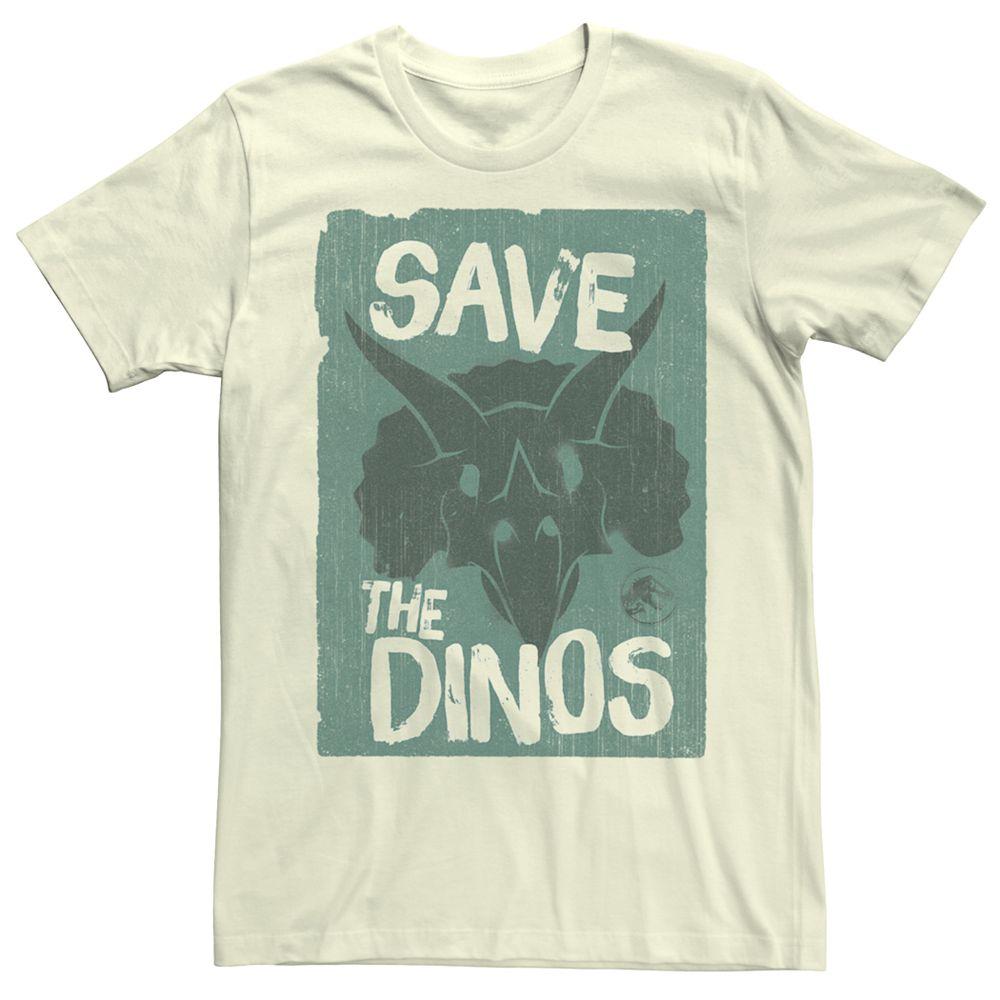Men's Jurassic World Fallen Kingdom Save the Dinos Tee