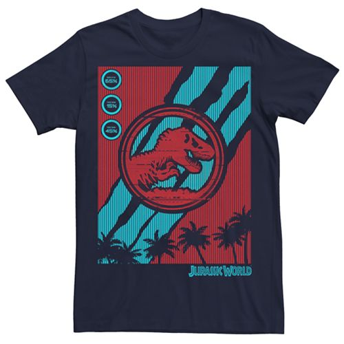 Men's Jurassic World Fallen Kingdom Tech Dino Rip Tee