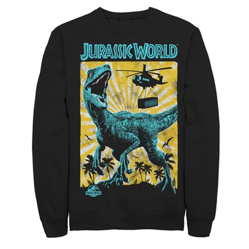 Men's Jurassic World Fallen Kingdom Capture and Contain Sweatshirt