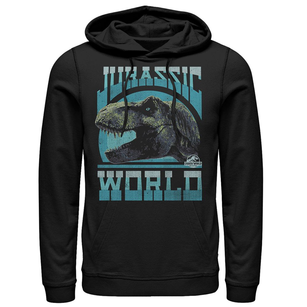 Men's Jurassic World Fallen Kingdom T-Rex Pull-Over Hoodie