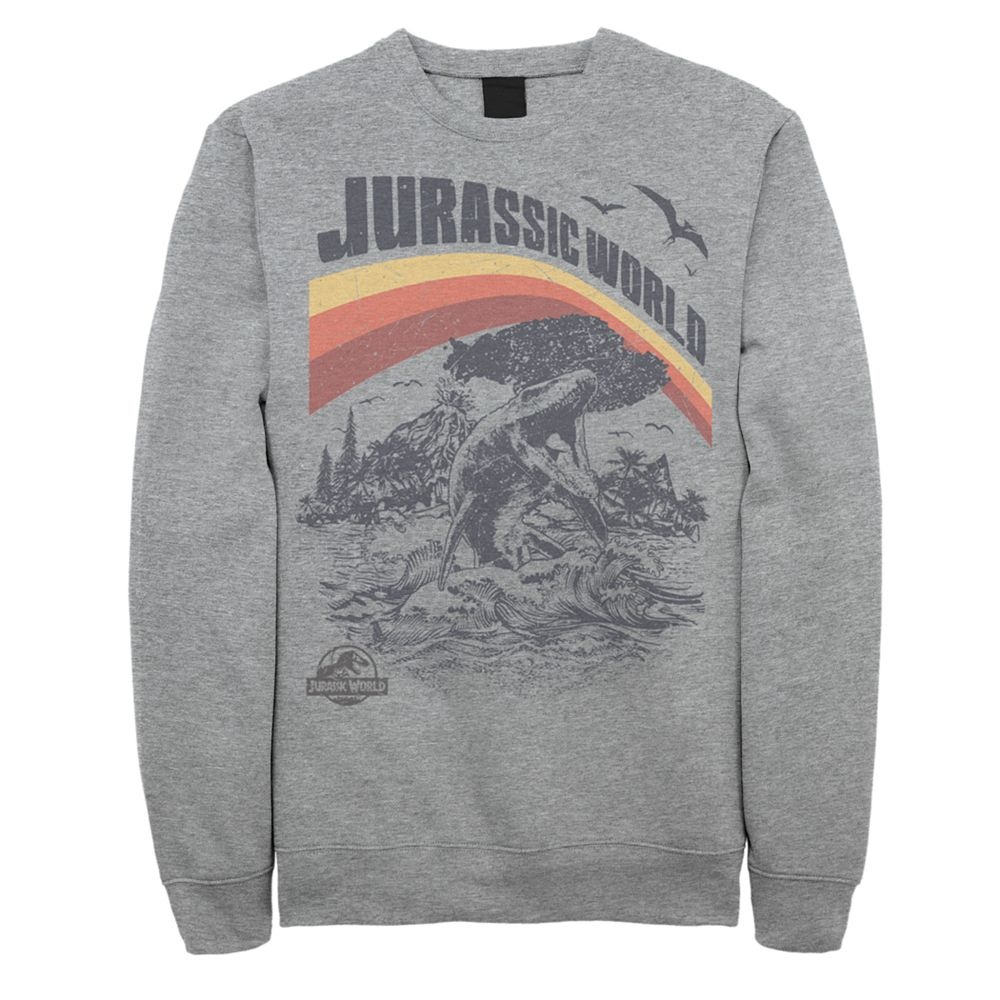 Men's Jurassic World Fallen Kingdom Nebular Oceanic Sweatshirt