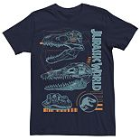 Men's Jurassic World Fallen Kingdom Dino Skulls Tee