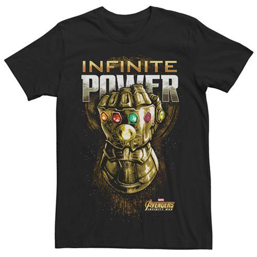 Men's Avengers Infinity War Infinite Power Gauntlet Tee