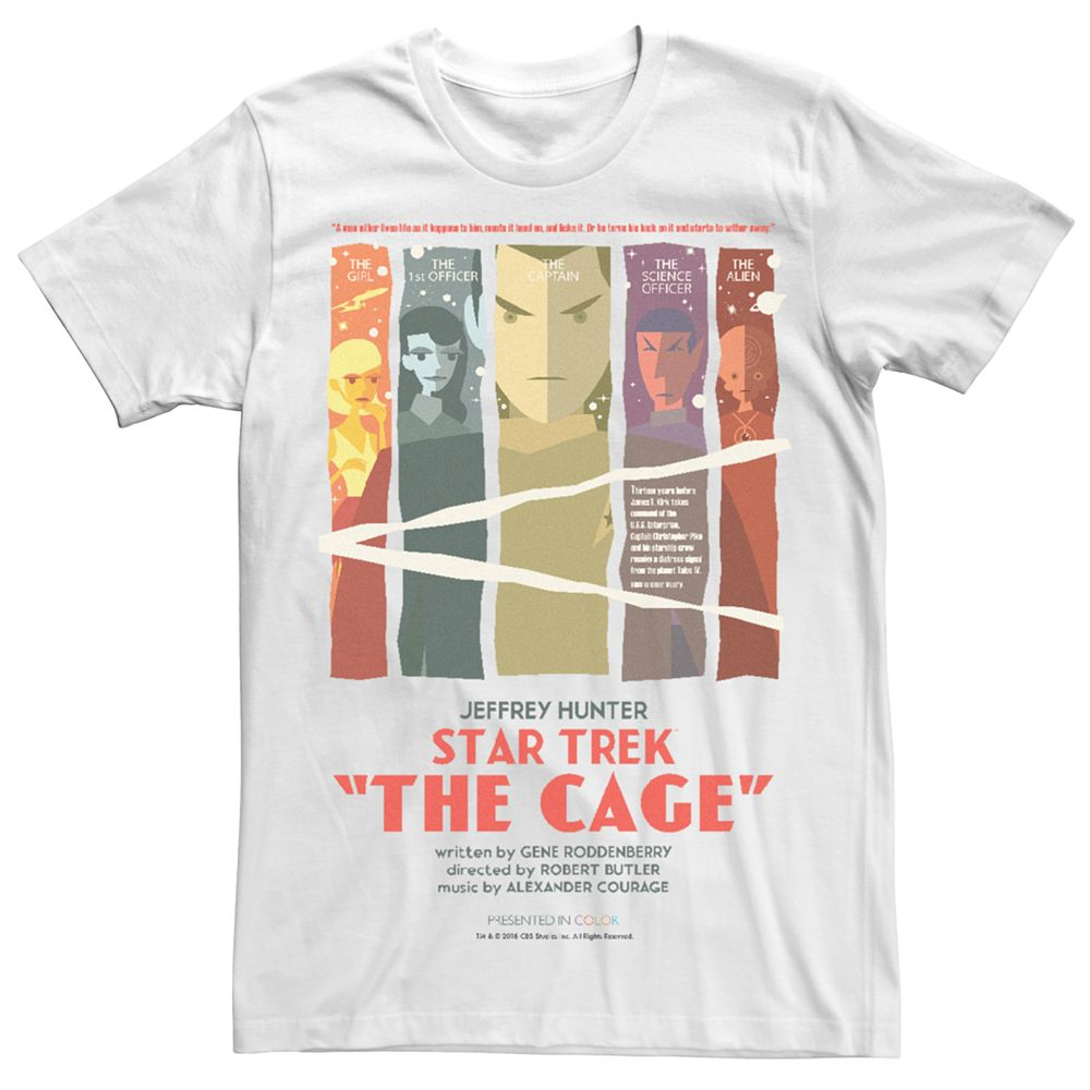 Men's Star Trek Vintage Poster Tee