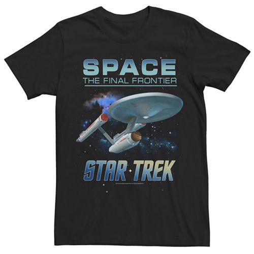 Men's Star Trek Space Frontier Tee