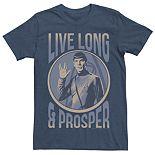 Men's Star Trek Spock Character Tee