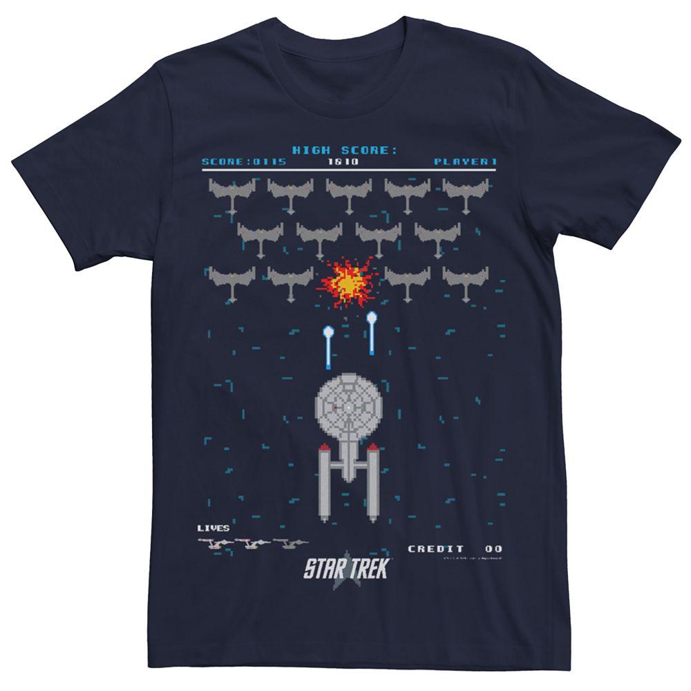 Men's Star Trek Pixel Fighter Tee