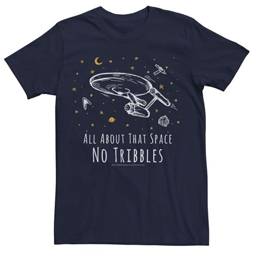 Men's Star Trek No Tribbles Tee