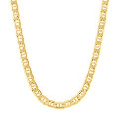 82c5ac3f2290b7 Everlasting Gold 10k Gold Marine Link Chain Necklace
