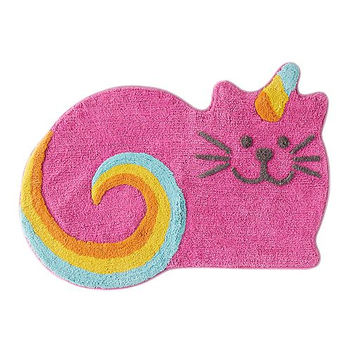 Saturday Knight, Ltd. Meowgical Cat Bath Rug