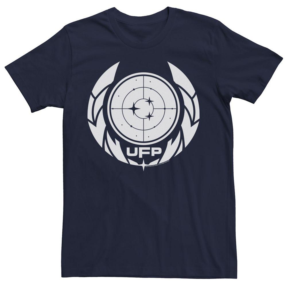 Men's Star Trek UFP Badge Graphic Tee