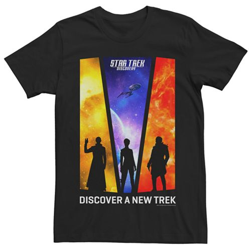 "Men's Star Trek Discovery ""A New Trek"" Graphic Tee"
