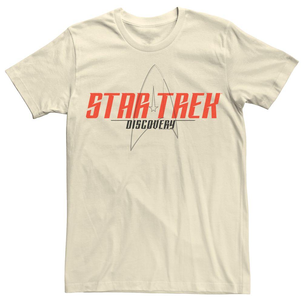 Men's Star Trek Discovery Opening Logo Graphic Tee