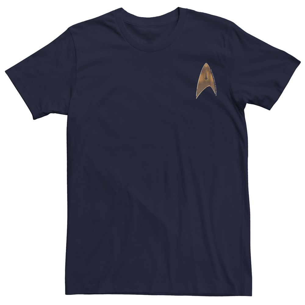Men's Star Trek Discovery Federation Shield Graphic Tee
